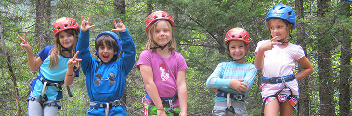 Kids at Adventure Camp