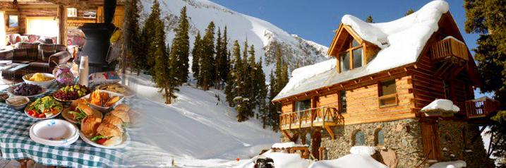 Winter Hut trip to Alta Lakes in Telluride Colorado