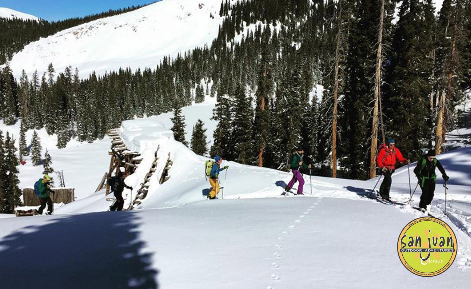 Avalanche School Students head out for Fieldwork in Telluride Colorado