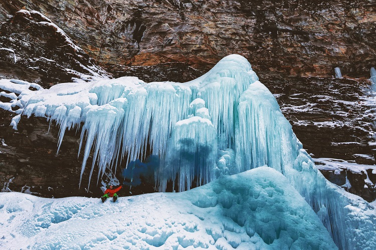 Ice Climbing Guide in Telluride Colorado