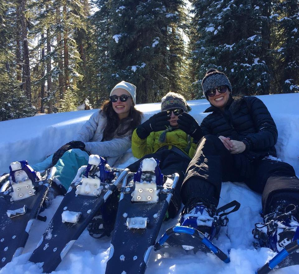 Snowshoe Fun in Telluride CO