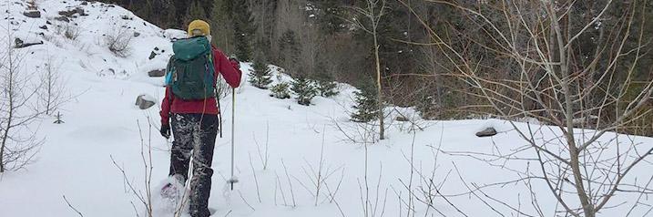 Snowshoeing in Telluride