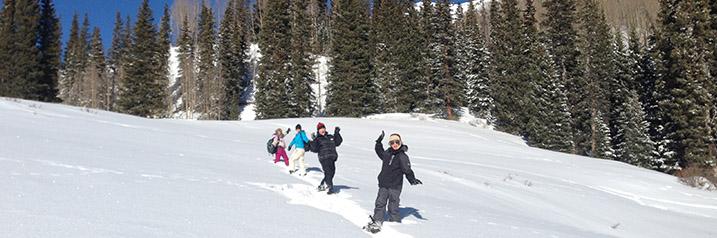 Snowshoe Tour in Telluride